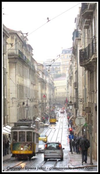 Beautiful streets of old Lisbon