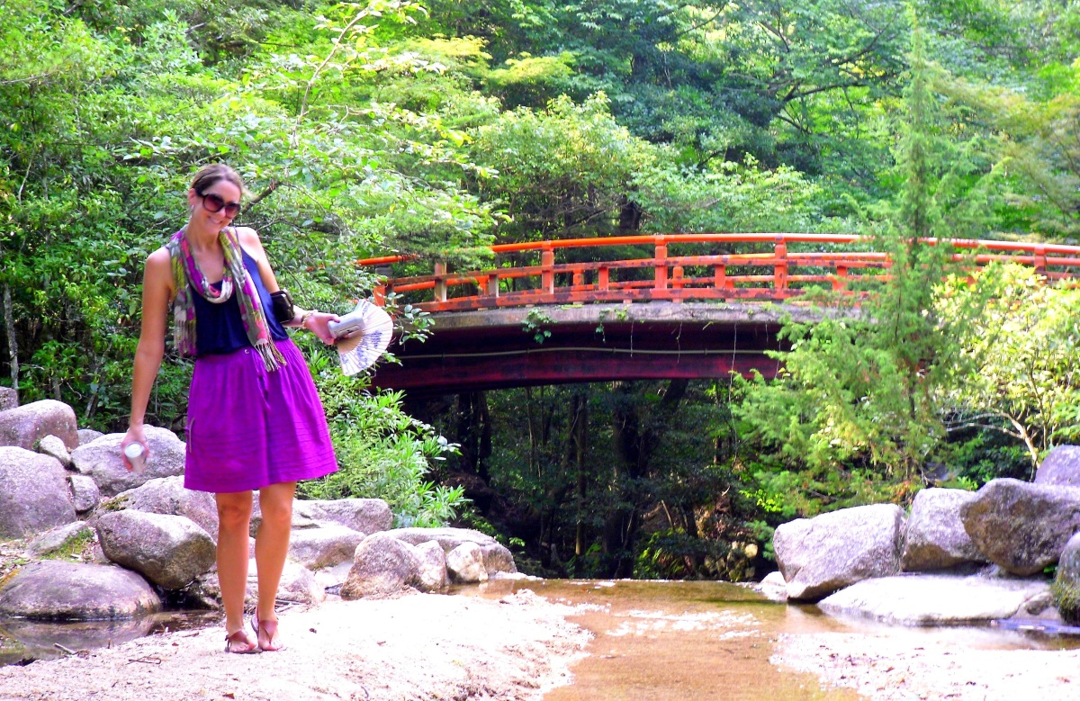Weekly Travel Outfit - Miyajima island, Japan